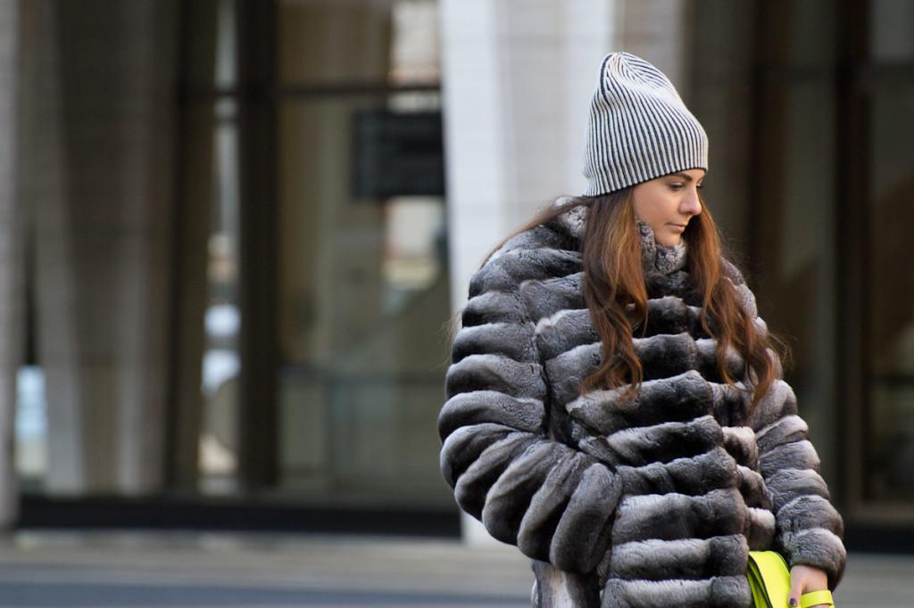 MEFeater street style fur