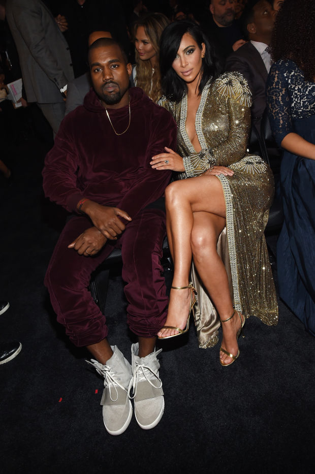 kanye west and kim grammys