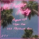 Having A Party August 19th! RSVP Here
