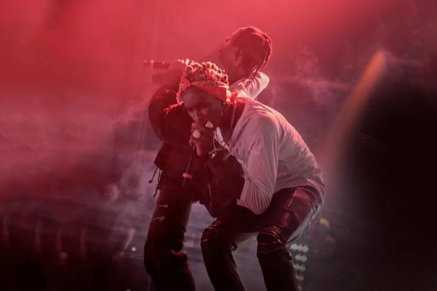 Travis Scott and Young Thug