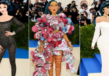Disney Princesses at the Met Gala