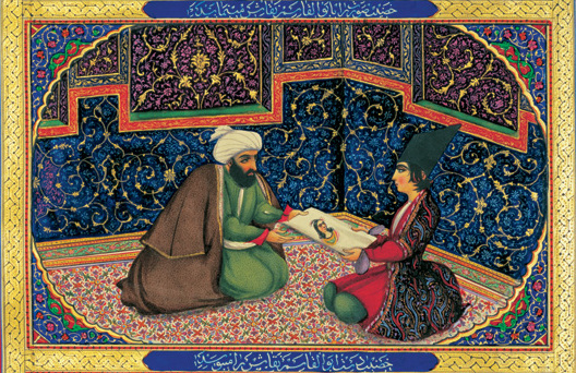 "Illustration from ""One Thousand and One Nights"" 