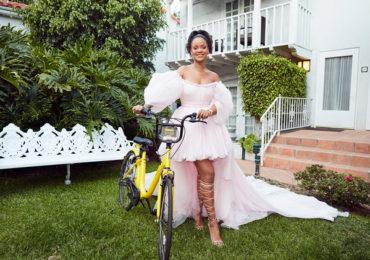 Rihanna Funds New Bike Sharing Program in Malawi, Africa
