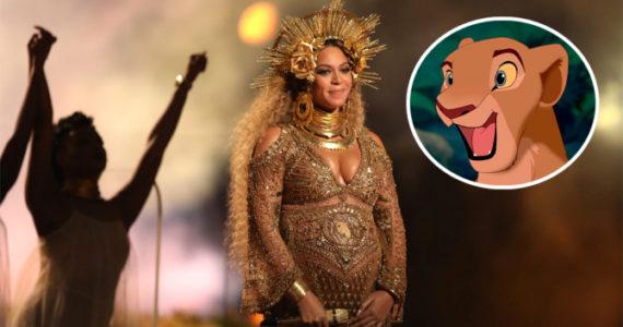Beyonce lion king