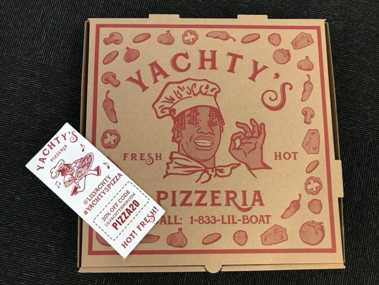 Lil Yachty Opened a Pizza Shop in NYC