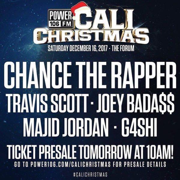 Chance the Rapper and Travis Scott Headline Power 106's Cali ...