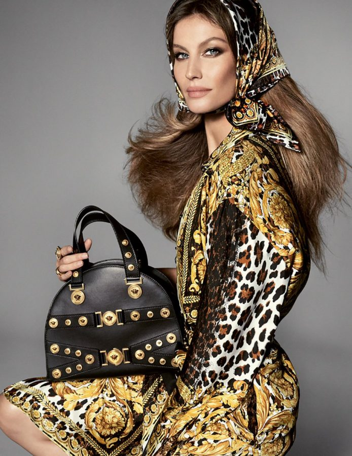 Gisele Bündchen for Versace SS18 by Steven Meisel