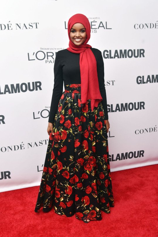 Halima Aden at Glamour's Women of the Year Awards. Picture by Getty Images