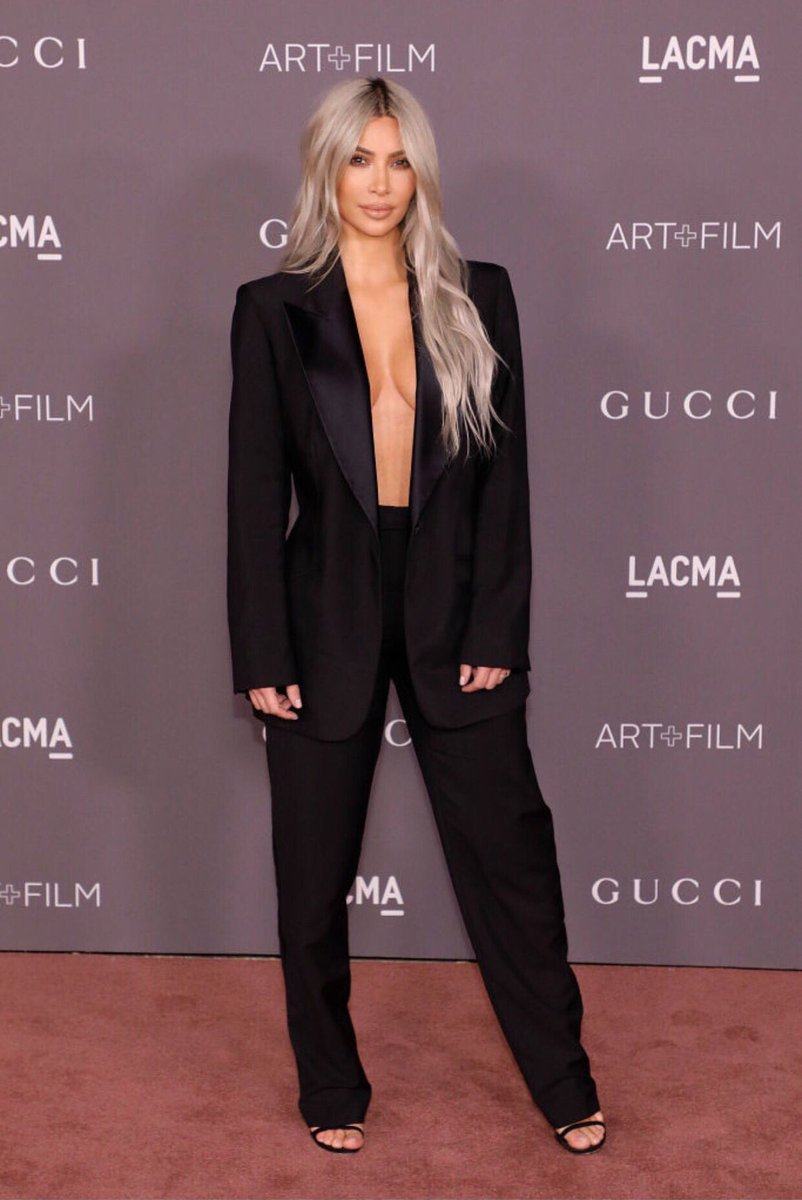 LACMA 2017 wearing Tom Ford for Gucci via Pinterest