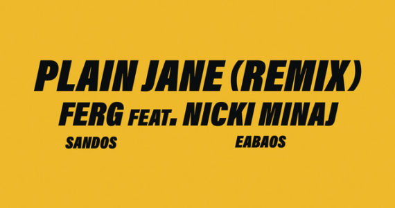 A$AP Ferg's Plain Jane Remix feat. Nicki Minaj, Shouts Out Biggie and Lupita Nyong'o
