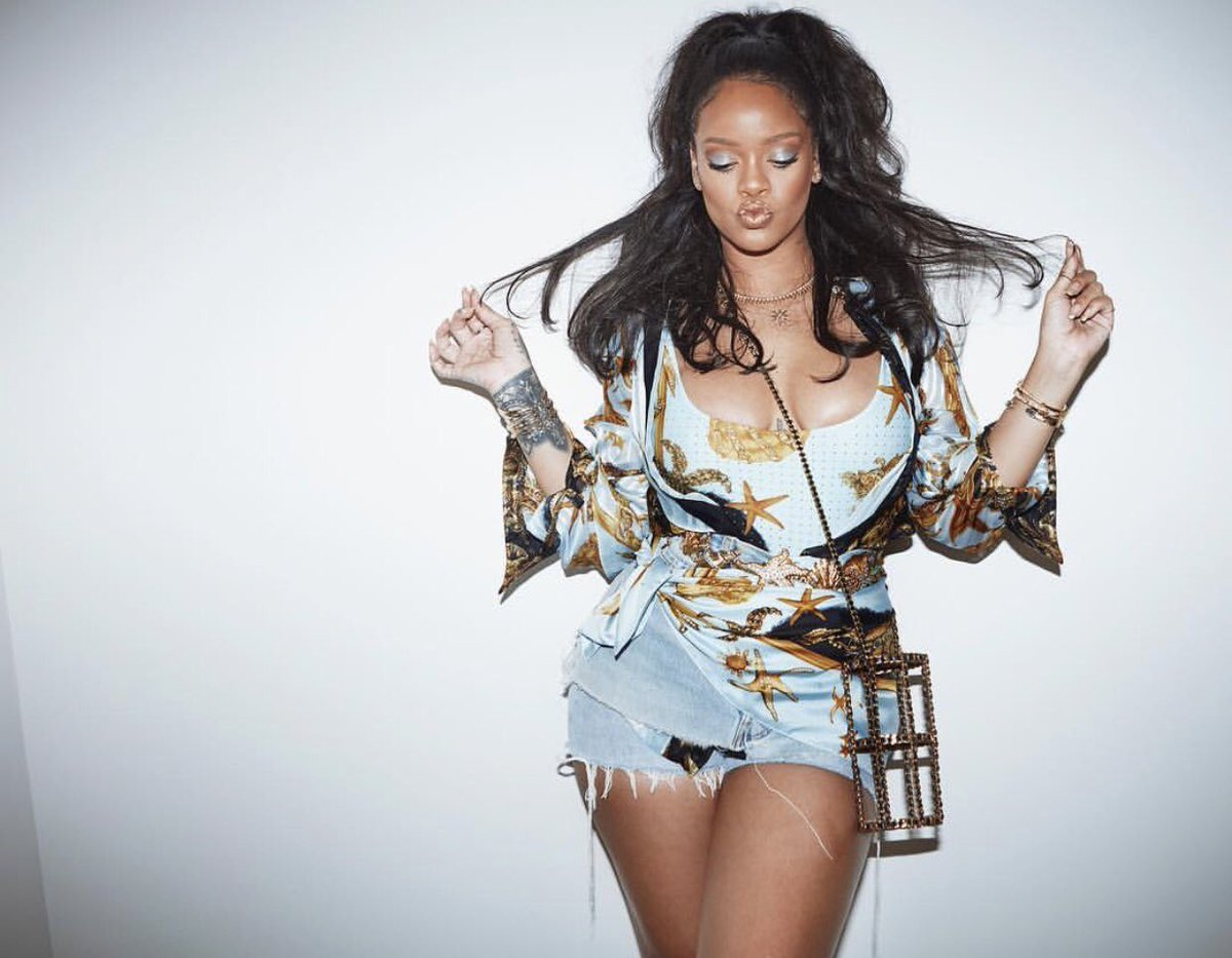 Rihanna via Instagram @badgalriri