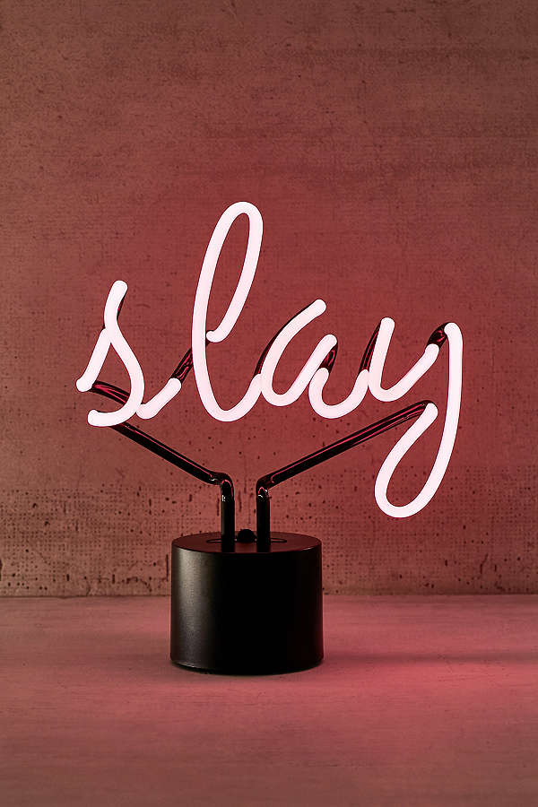 Slay Neon Sign Table Lamp $79