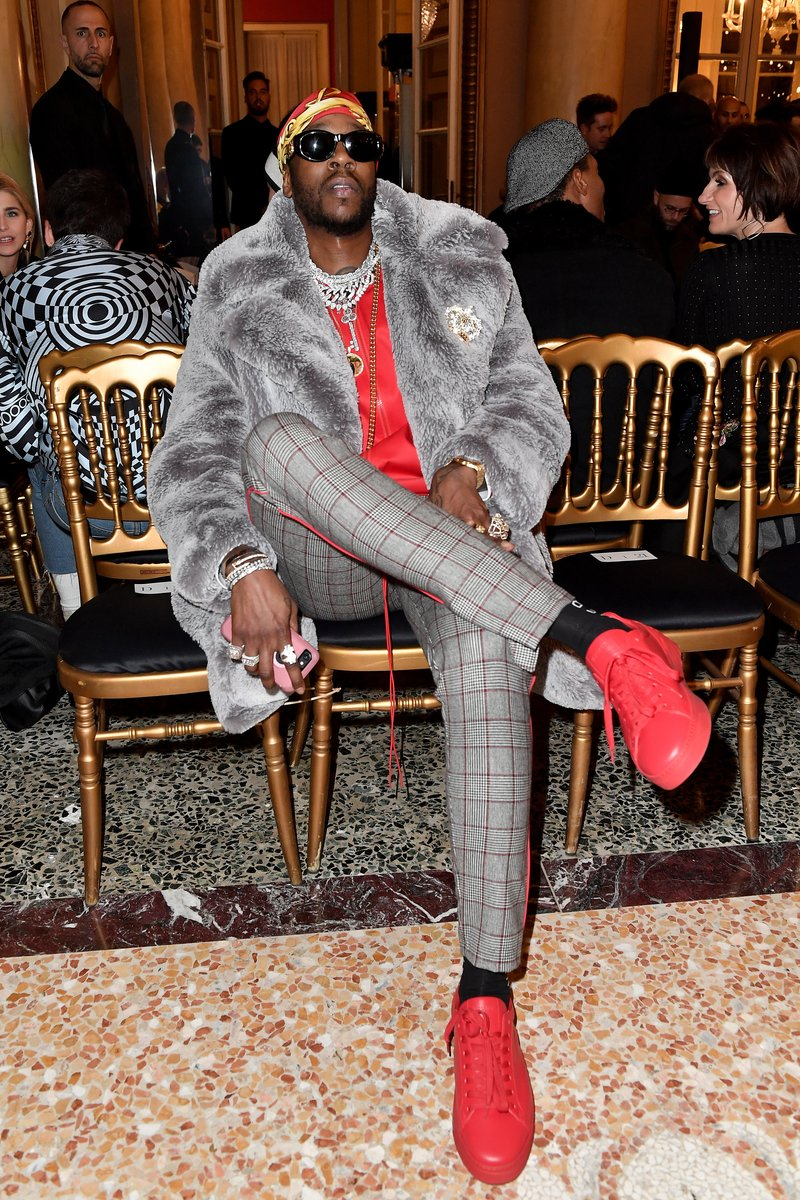 2 Chainz at Men's Fashion Week in Milan. Photo by Jacopo Raule/Getty Images