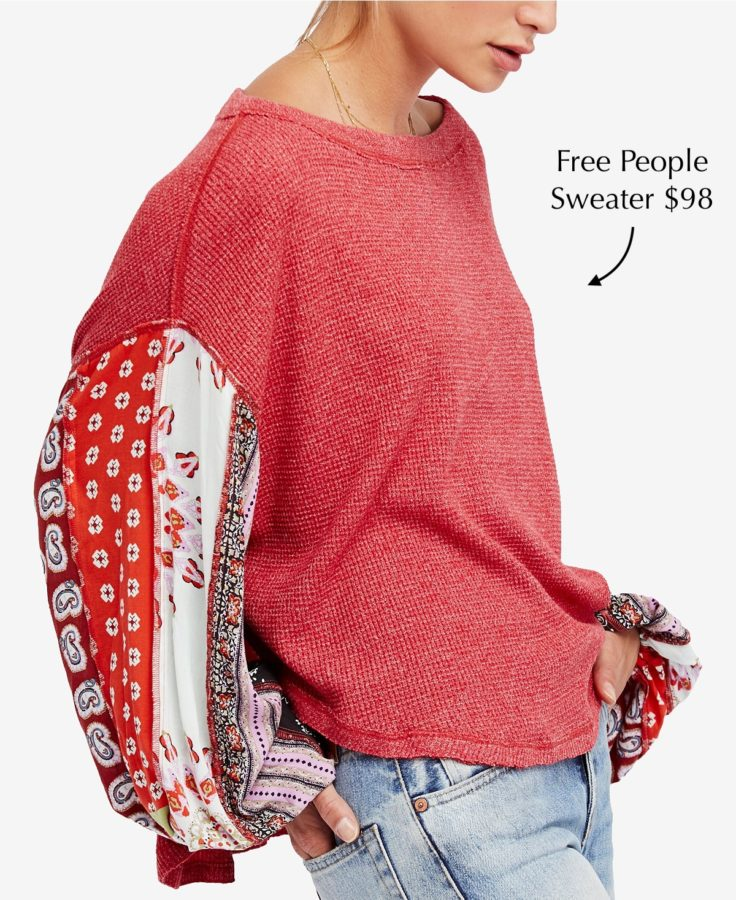 Free People Thermal Sweater $98