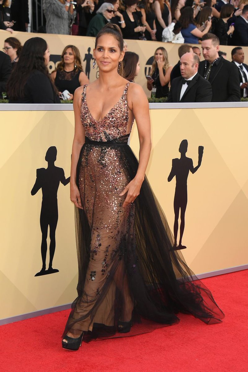 Halle Berry at the 2018 #SAGAwards