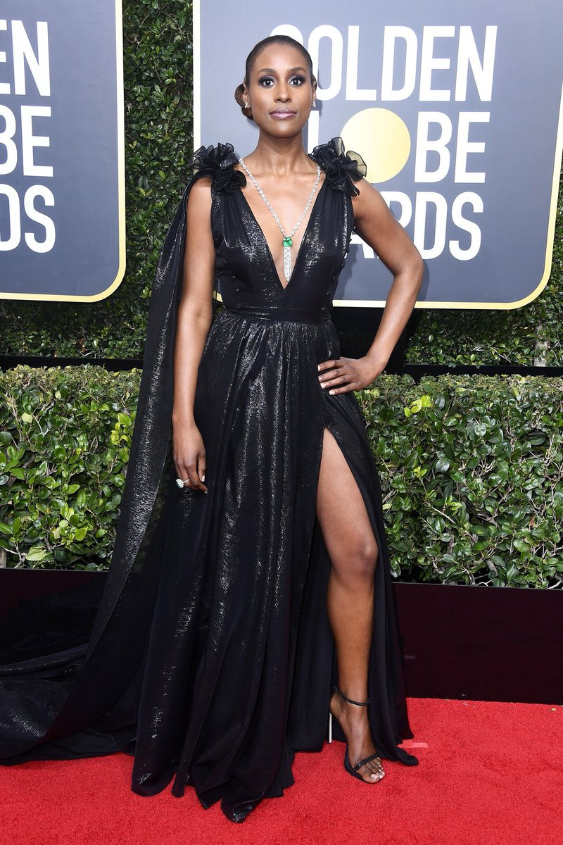 Issa Rae wearing Prabal Gurung