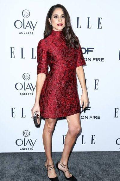 Meghan Markle at an Elle event. Photo via Legion Media