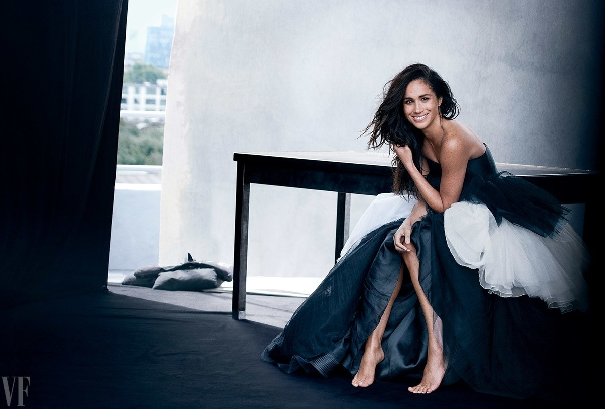 Photographed for Vanity Fair by Peter Lindbergh and styled by Jessica Diehl