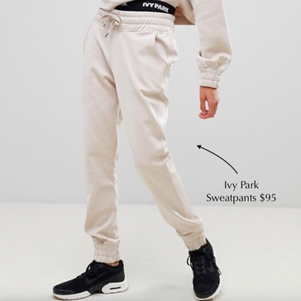 Ivy Park Joggers $95