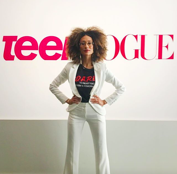 Elaine Welteroth on her departure from Teen Vogue and Condé Nast via Instagram @elainewelteroth