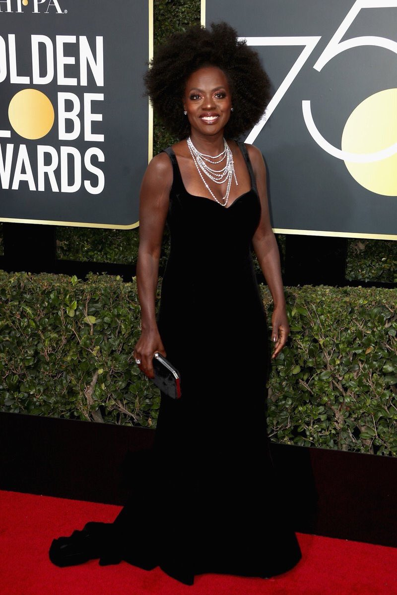 Viola Davis wearing Brandon Maxwell and Stuart Weitzman shoes