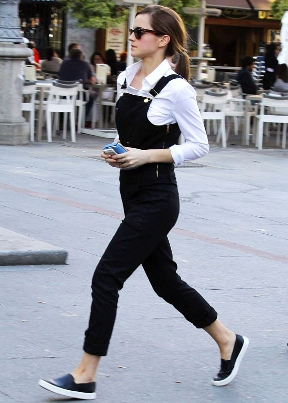 Emma Watson street style via Pinterest