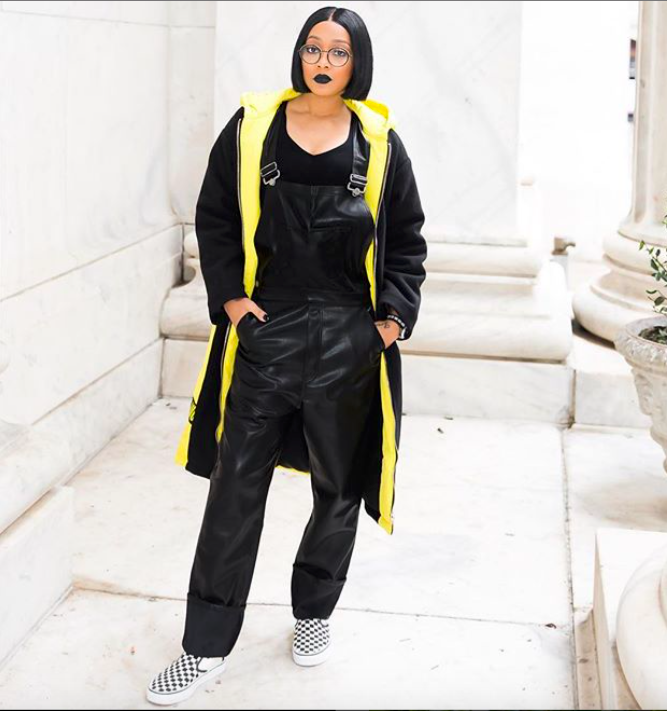 Monica Brown captured in Philadelphia by Cyndi Brown