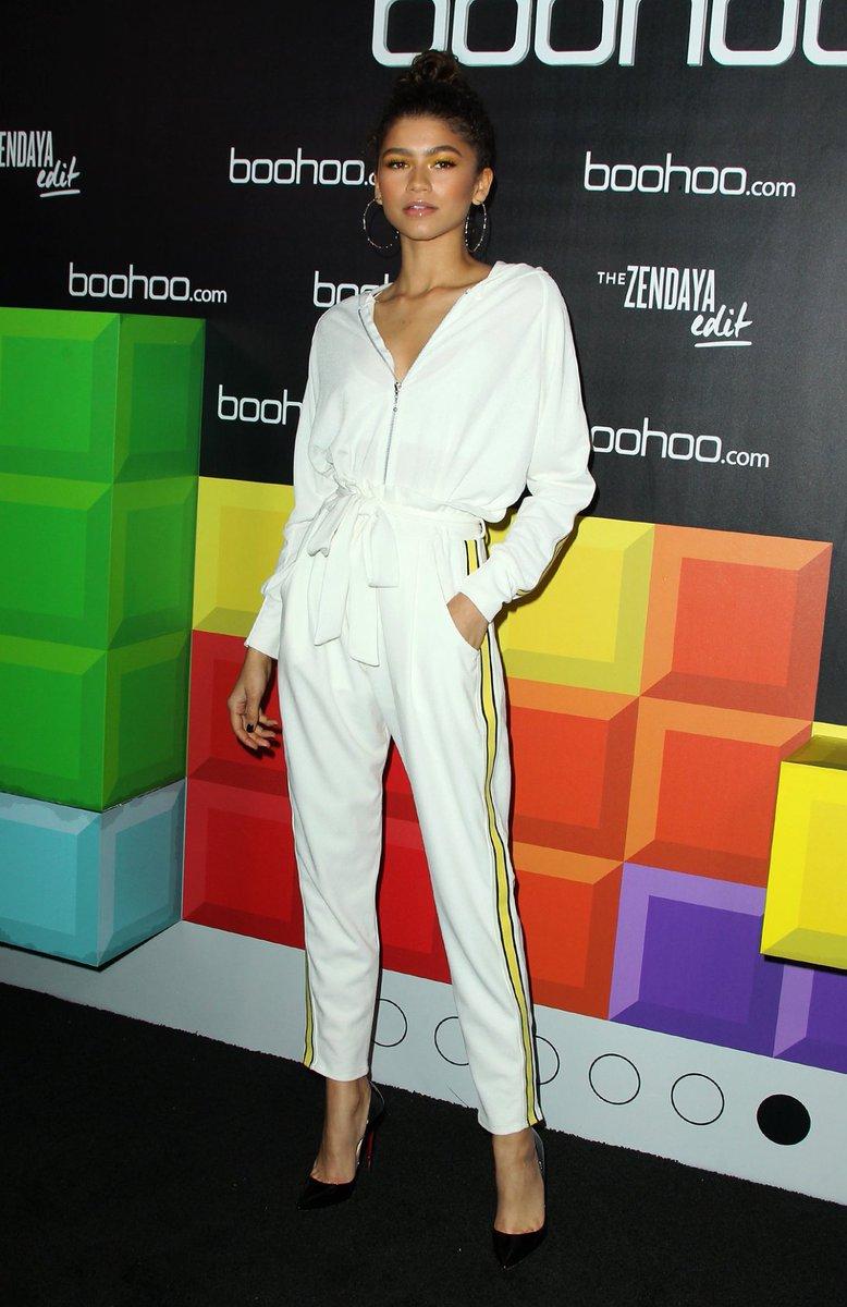 Zendaya at Boohoo's 'The Zendaya Edit' Block Party via