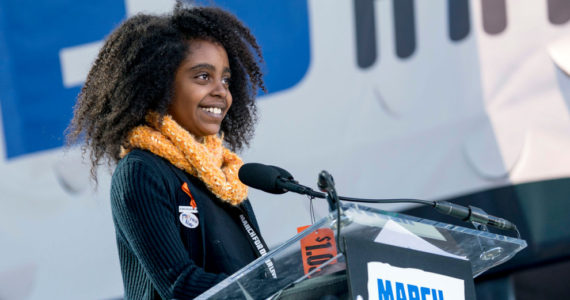 Naomi Wadler March 24th