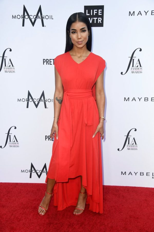 Jhene Aiko attended The Daily Front Row's 4th Annual Fashion Los Angeles Awards in Beverly Hills. Photo by Frazer Harrison/Getty Images