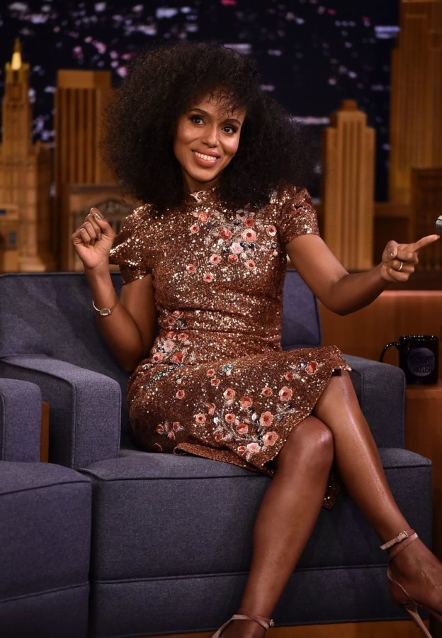 Kerry Washington on The Tonight Show Starring Jimmy Fallon. Photo by Theo Wargo/Getty Images for NBC
