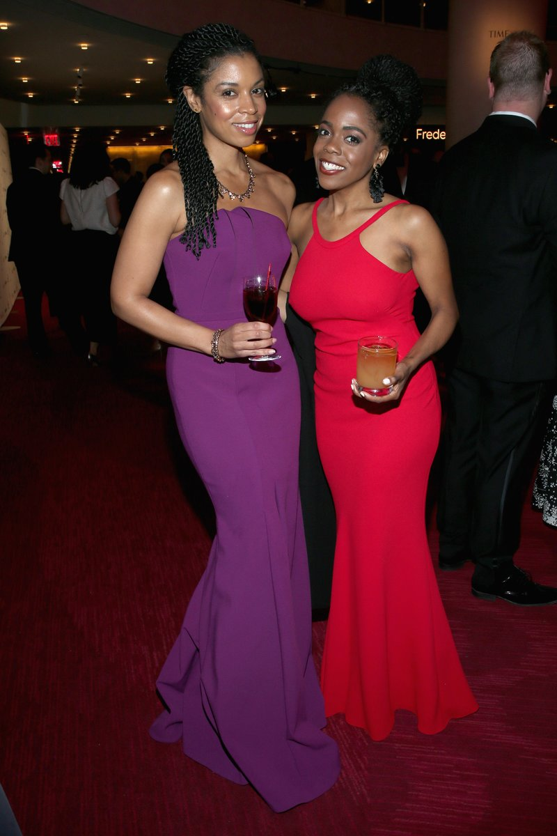 Susan Kelechi Watson and Shani Taylor at the 2018 Time 100 Gala. Photo by Jemal Countess/Getty Images