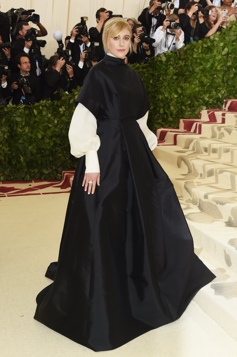 Greta Gerwig wearing The Row