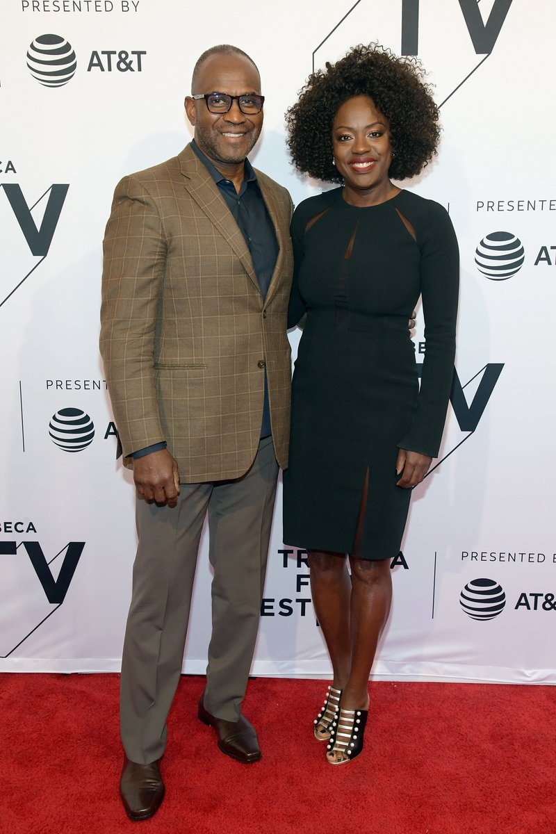 "Julius Tennon and Viola Davis attended ""The Last Defense"" during the Tribeca Film Festival in NYC. Photo by Ben Gabbe/Getty Images for Tribeca Film Festival"