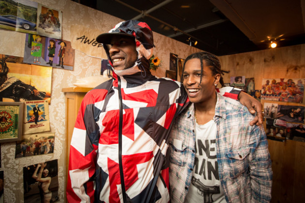 A$AP Rocky and Skepta Team-Up for 'Praise The Lord (Da Shine