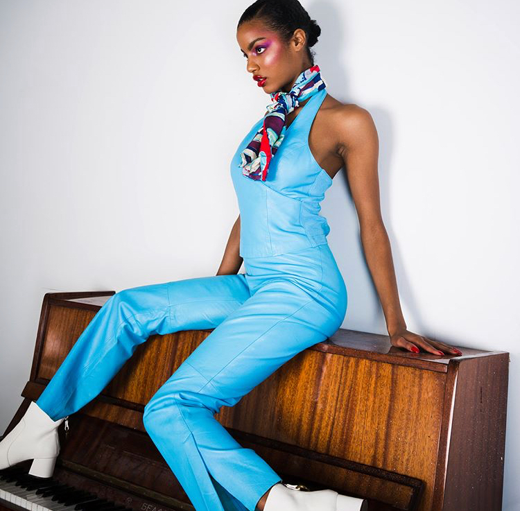 Ebonee Davis for MEFeater Magazine photographed by Mark Clennon