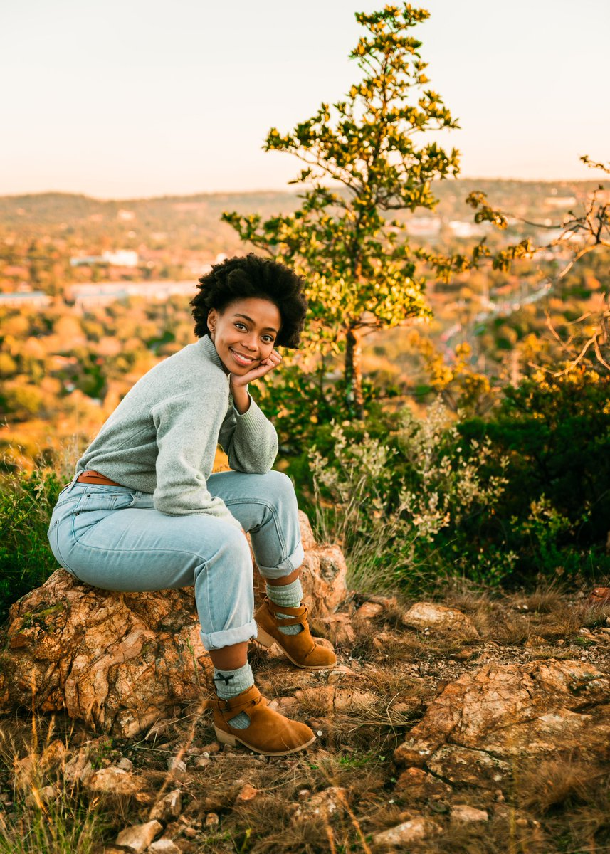 Law student and blogger Refiloe Mofokeng photographed by Shen Scott
