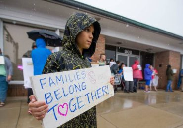 US-immigration-protest-families