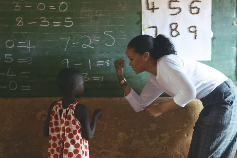 rihanna education feature